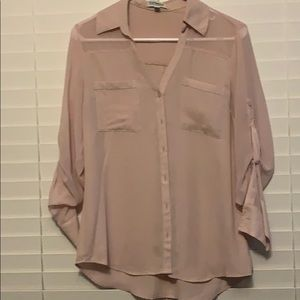 Mauve button up